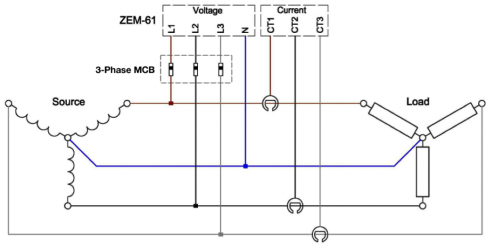 ZEM-61 Connection Diagram